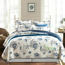 marine bedding marine style cotton quilt set quilted bedspread printed quilts bed cover king size coverlet marine bedding