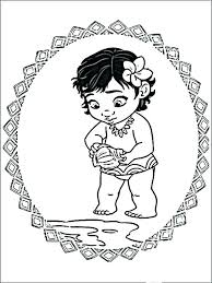 Coloring Pages Baby Moana Coloring Pages Printable Free 9 Baby