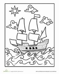 Mayflower Worksheet