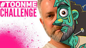TOONME Challenge! // Turning Me Into A Cartoon! - YouTube