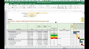 Project Planning Timeline T4 Weekly Project Timeline Template Vdo Training