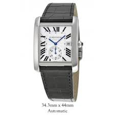 buy discount cartier watches from precisiontime co uk the uk s cartier w5330003 tank mc automatic mens watch