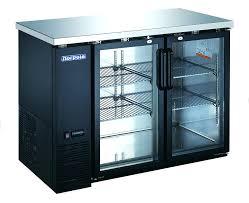 bar refrigerator glass door 2 glass door back bar refrigerator bar fridge glass door perth