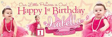 1st birthday banner baby birthday poster design happy holidays
