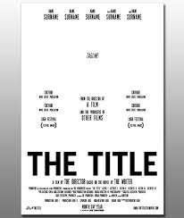 Movie Poster Free Template Movie Poster Free Template Rome Fontanacountryinn Com