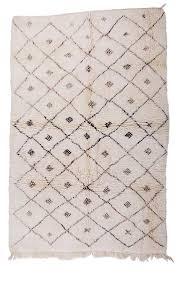 moroccan beni ourain vintage berber rug 336