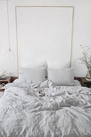 light gray linen duvet cover set 3 pcs