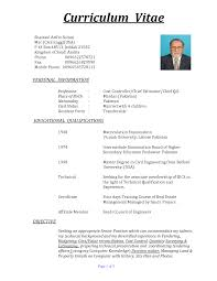 Resume In Usa Format Resume For Your Job Application