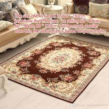 high quality soft jacquard carpet porch parlor living room floor rugs nonslip mats home household area