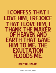 Confess Love Quotes Pu
