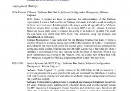 Configuration Management Resume Sample Bunch Ideas Software For