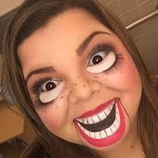ventriloquist dummy makeup for creative diy makeup ideas