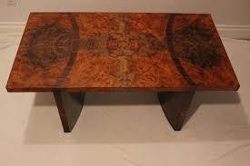 Burl Coffee Tables Custom Walnut Burl Coffee Table By Rileys Custom Cabinets