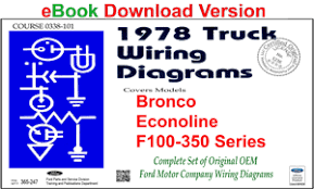 fordmanuals com 1978 ford truck shop manual ebook 1978 ford truck wiring diagrams f100 ebook