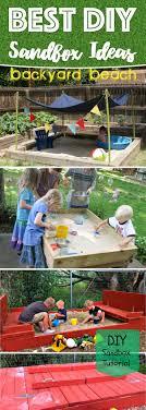 diy sandbox ideas