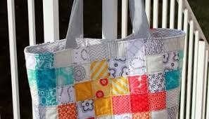 Quilt Block Tote Bag - Free Quilting Tutorial   PatternPile.com ... & Sew this Patchwork Tote Adamdwight.com