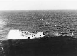 carrier ramp. file:tbf ramp strike on uss solomons (cve-67).jpeg carrier