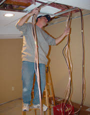 home theater wiring installing speaker wire hdmi cable installing speaker wire in drop ceiling