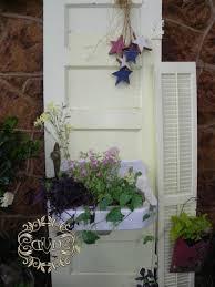Old Door Decorating Door With A Planter Box Sink