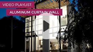 aluminum curtain walls