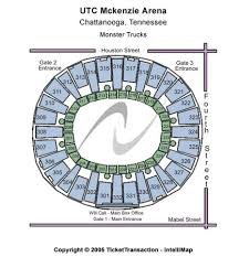 Utc Mckenzie Arena Tickets In Chattanooga Tennessee Utc