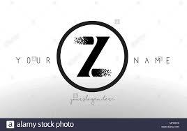 Z Logo Design Vector Z Logo Letter With Digital Pixel Tech Design Vector And