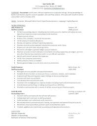 Accounting Student Resume Extraordinary Accountant Resume Accounting Example Samples Financial Accountant