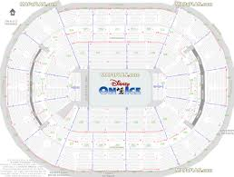 Wizards Seating Chart With Rows Washington Dc Verizon Center Disney On Ice Show Seating