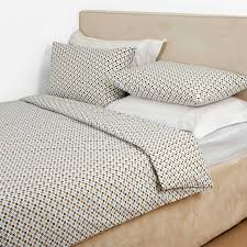 orla kiely multi cotton flower spot double duvet cover