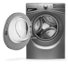 Compact Front Load Washers Whirlpool Chrome Shadow Front Load Washer 52 Cu Ft Iec