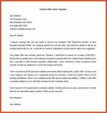 offer letter sample counter offer letter template word free min