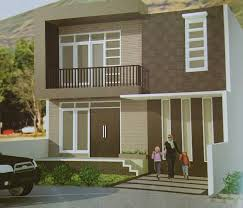 Selain itu juga minim ornamen. 20 Desain Rumah Minimalis Modern 2 Lantai Denah Ruang Terbaru 2020
