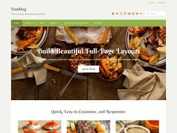 Recipe Page Layout 60 Best Wordpress Food Blog Themes 2019
