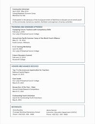 Resume Objectives For Teachers Luxury Resume For Teaching Profession ...