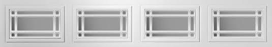 garage door plastic window insertsResidential Steel Panel Windows  Ideal Garage Doors