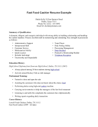 fast food manager resume cosy resume for fast food restaurants also of managerjective