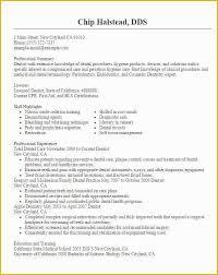 Free Dental Resume Templates Of 6 Dentist Curriculum Vitae