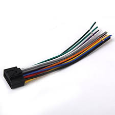 kenwood car stereo head unit replacement wiring harness amazon co kenwood car stereo head unit replacement wiring harness plug indash dvd cd mp
