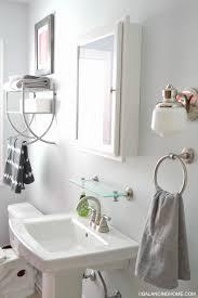 bathroom pedestal sink storage. Contemporary Bathroom Bathroom Pedestal Sink Storage Awesome Ideas  Gray Kacy With