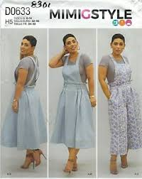 Crop Top Sewing Pattern Enchanting Simplicity 48 Misses' Overalls Jumper And Crop Top Sewing Pattern