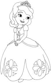 princess sofia coloring pages with first cartoon wallpapers