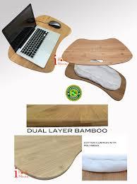 home furniture computer desk wooden laptop lap desk bean bag