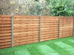 Horizontal Privacy Fence Horizontal Fence Ideas Stunning Horizontal