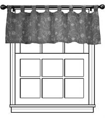 tab top valance. Contemporary Tab Intended Tab Top Valance D