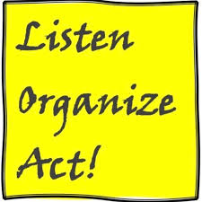 Listen, Organize, Act! Community Organizing & Democratic Politics