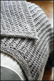 Chunky Knit Blanket Pattern Best Super Chunky Knit Blanket Pattern Merino Throw Tweed Reference Diy