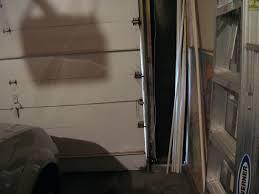 garage door weatherstripping top and side vinyl rubber inserts