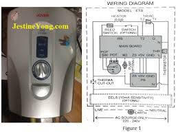 useful bulb testing method to solve household instant water shower joven water heater repair