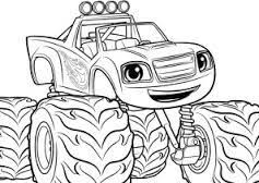 Image Result For Blaze And The Monster Machines Coloring Pages