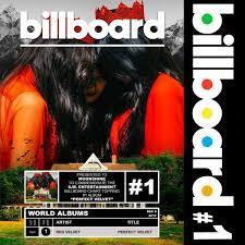 Billboard Red Velvet 1 On Us Billboard World Albums Ekko